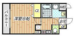 GOOD LIFE 岩田[5階]の間取り
