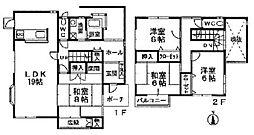 [一戸建] 大阪府豊能郡豊能町新光風台5丁目 の賃貸【/】の間取り