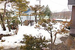 広いお庭。