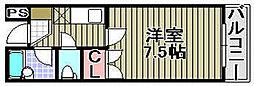 ミヤコピア高松[2階]の間取り