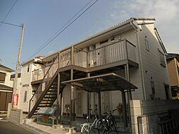 千葉県柏市西原2丁目の賃貸アパートの外観