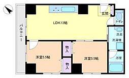 エクセル熊野町 501[5階]の間取り