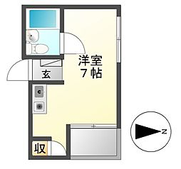 fビル新栄I[5階]の間取り