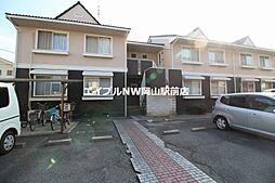 岡山県岡山市中区浜丁目なしの賃貸アパートの外観