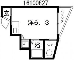 プラタ1[2階]の間取り