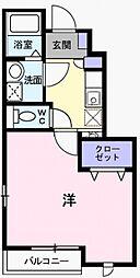 メゾン アベイユII[1階]の間取り