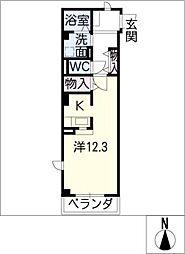 ココルーナ[2階]の間取り