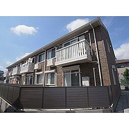 奈良県葛城市柿本の賃貸アパートの外観