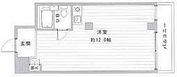 JPアパートメント守口VI[3階]の間取り