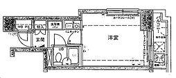 シルフィード衣笠[405号室]の間取り