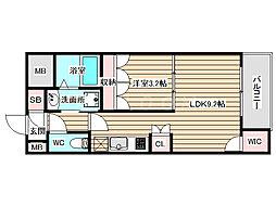 SERENiTE福島scelto 5階1LDKの間取り