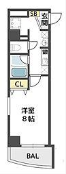 ウィルドゥ千代崎[2階]の間取り