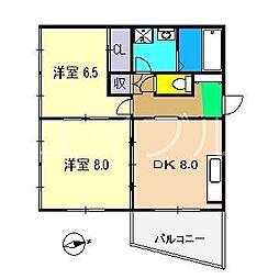 CASA・DI・SOLE 南棟[3階]の間取り