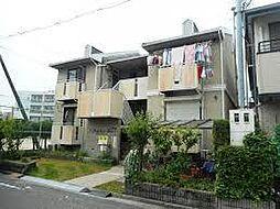 大阪府門真市速見町の賃貸アパートの外観