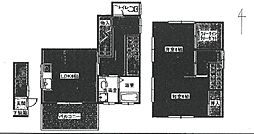 [テラスハウス] 兵庫県尼崎市南塚口町8丁目 の賃貸【/】の間取り