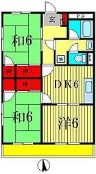 加藤第2ビル[2階]の間取り