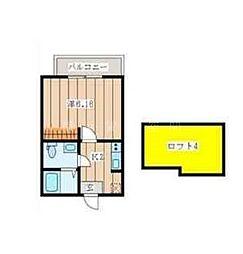グランシャトー弘明寺[2階]の間取り