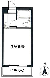 コーワマンション3階Fの間取り画像