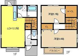 [一戸建] 愛知県名古屋市中川区一色新町3丁目 の賃貸【/】の間取り