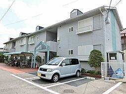 滋賀県甲賀市水口町本丸の賃貸アパートの外観