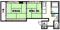 佐々木マンション[3階]の間取り