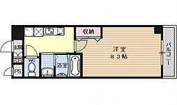 マジョール東山[302号室号室]の間取り