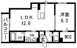 仮称)東大阪市・シャーメゾン荒川2丁目[201号室号室]の間取り