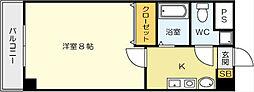 MOKU・MOKU[1階]の間取り