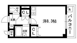ヴィユ江上[3階]の間取り