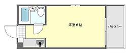 ダイドーメゾン御影II[4階]の間取り