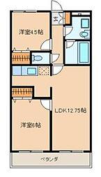 リリーガーデン[3階]の間取り