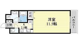 コージィーコート桜井[2階]の間取り