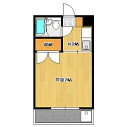 第3サンライズマンション[2階]の間取り