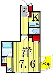VERXEED綾瀬駅前[7階]の間取り