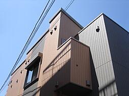 東京都府中市朝日町2丁目の賃貸アパートの外観