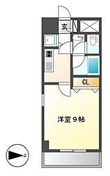 プロシード新栄[10階]の間取り