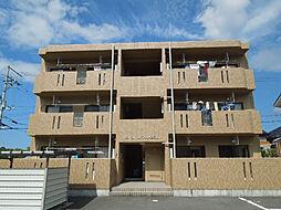 愛媛県東温市田窪の賃貸マンションの外観