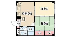 ピアシティS・Y2[103号室]の間取り