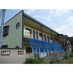 滋賀県湖南市三雲の賃貸アパートの外観