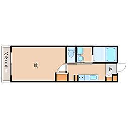 阪神本線 尼崎駅 徒歩7分の賃貸マンション 10階1Kの間取り