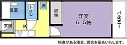 キュービック141[3階]の間取り