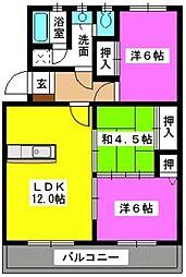 第2大和ビル[3階]の間取り