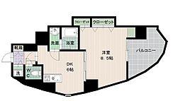 タワーTORIKAI[11階]の間取り