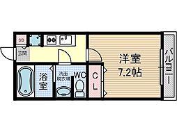 エスポアールB棟[1階]の間取り
