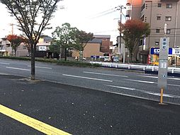 近隣バス停です...