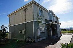 三重県桑名市長島町平方の賃貸アパートの外観