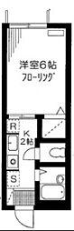 アーバンライフ東高円寺[205号室号室]の間取り