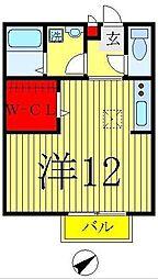 アルシュ12[2階]の間取り