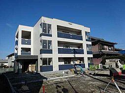 愛知県あま市篠田三田畑の賃貸マンションの外観