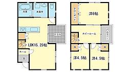 [一戸建] 兵庫県姫路市飾磨区今在家 の賃貸【/】の間取り